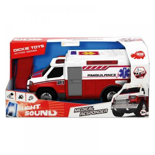 Dickie Toys Light & Sound Medical Responder