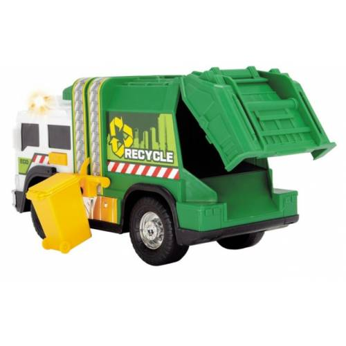 Dickie Toys Light & Sound Recycle Truck