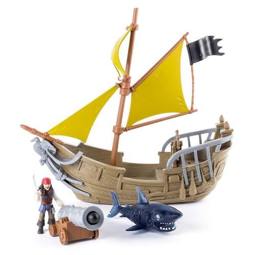 Disney Pirates of the Caribbean Jack's Pirate Ship Playset