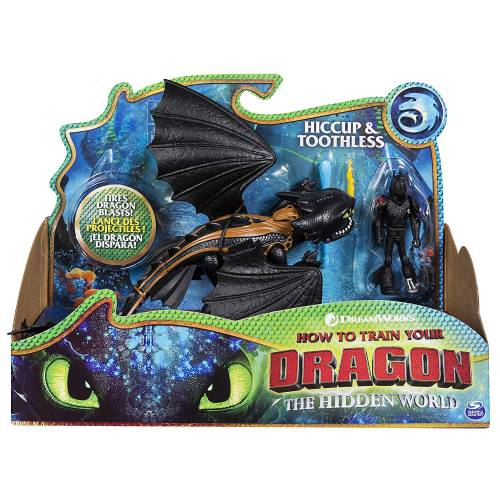 Dragons Hiccup & Toothless Figure Set