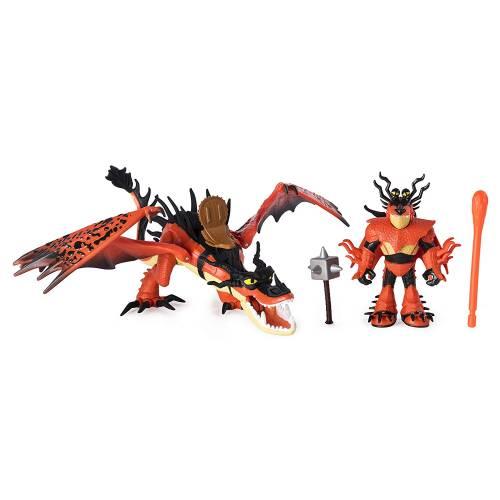 Dragons Snotlout & Hookfang Figure Set