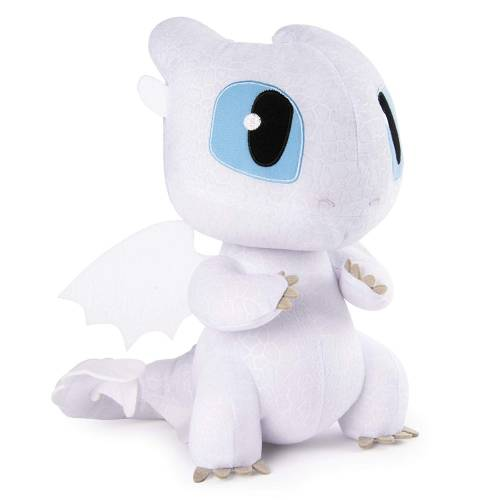 Dragons Squeeze & Growl Lightfury 10-Inch Plush with Sounds
