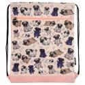 Drawstring Bag - Pug World