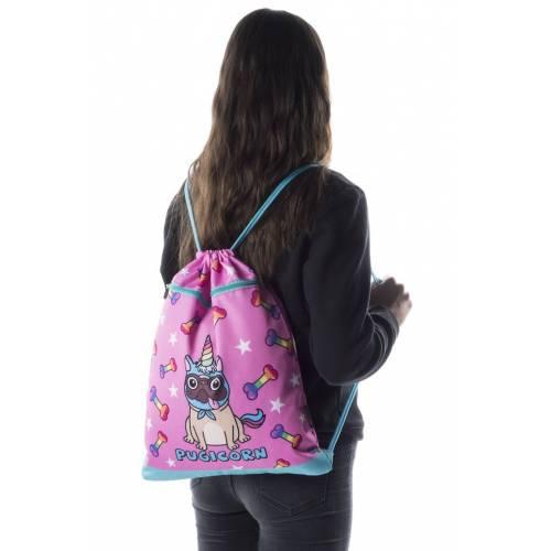 Drawstring Bag - Pugicorn