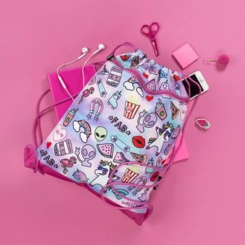 Drawstring Bag - Teen Doodle