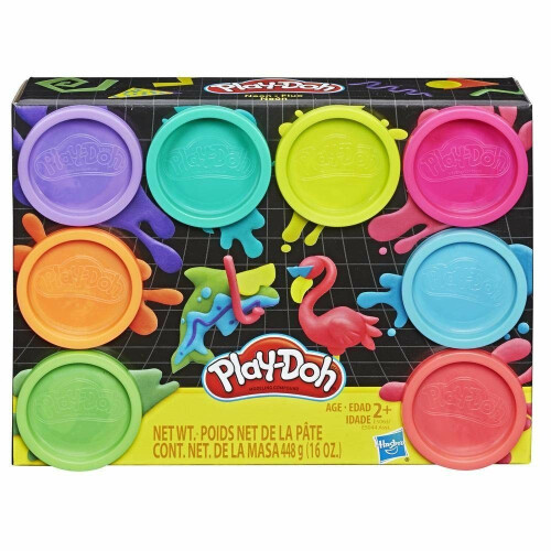 Play-Doh 8 Tub Neon