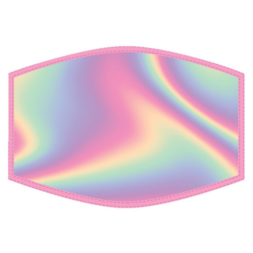 Washable Face Protector - Kids Size - Iridescent