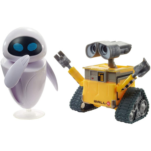 Wall-E Action Figure - Wall-E  & Eve