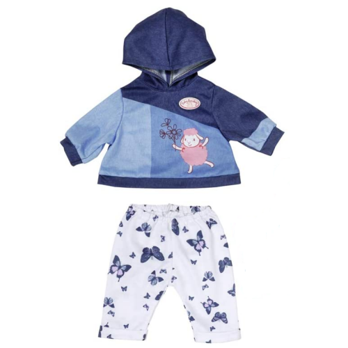 Baby Annabell Blue hoodie & Jogging Bottoms