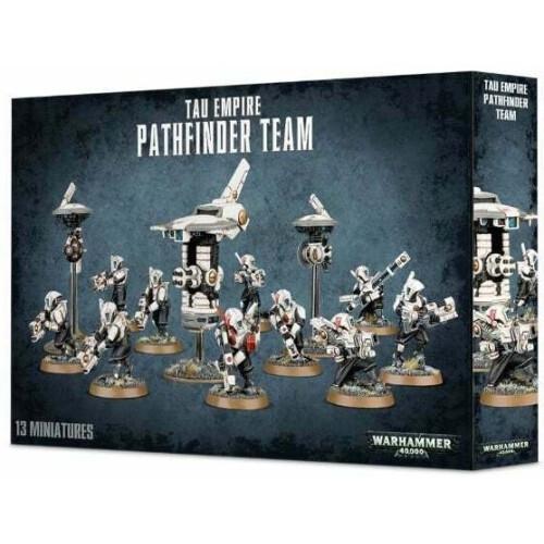 Warhammer 40,000 - T'au Empire Pathfinder Team
