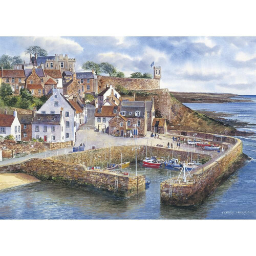 Gibsons Crail Harbour 1000pc Puzzle