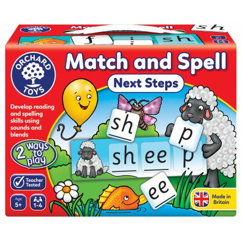 Orchard Match and Spell Next Steps
