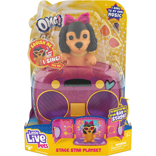 Little Live Pets OMG! - Stage Star Playset