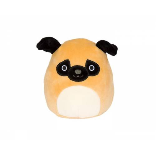 Squishmallows 3.5 Inch Plush Clip On - Prince the Pug