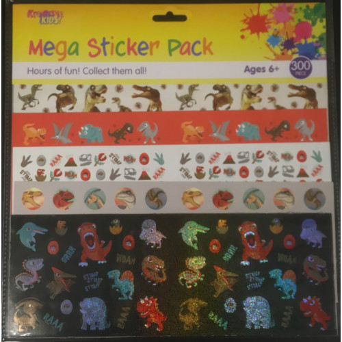 Mega Sticker Pack - Dinosaurs