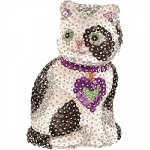 Sequin Art Ltd. Sequin Art 3D Cat 0501