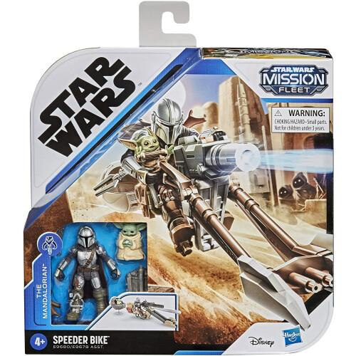 Star Wars The Mandalorian Mission Fleet Speeder Bike