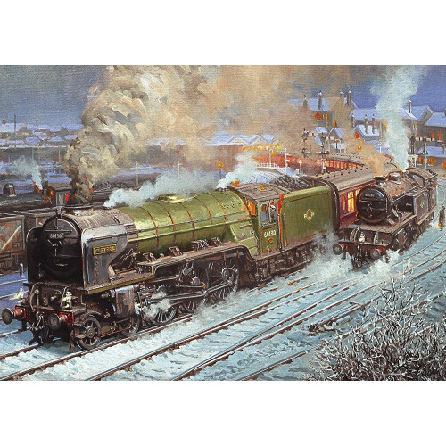 Gibsons Kestrel At Hartlepool 500pc Puzzle
