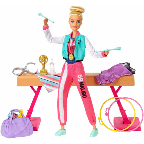 Barbie You Can Be Anything - Gymnast Playset