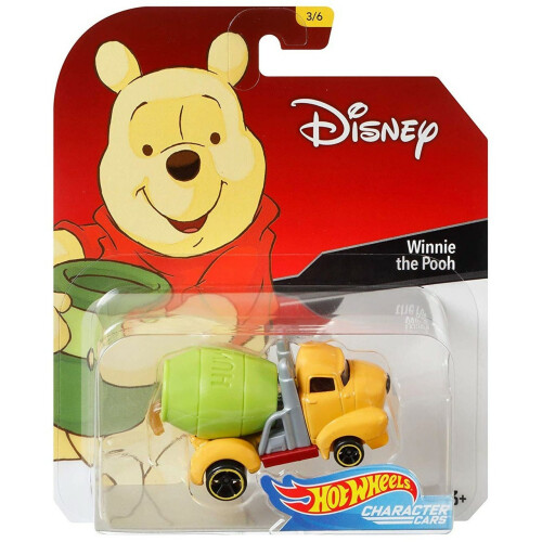 Hot Wheels Disney Character Cars Series 1 - Winnie the Pooh