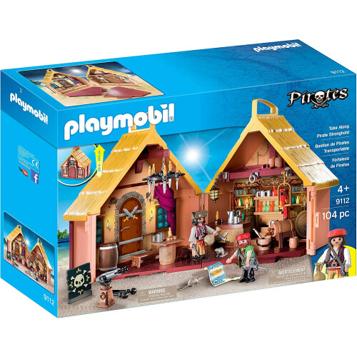 Playmobil 9112 Take Along Pirate Stronghold