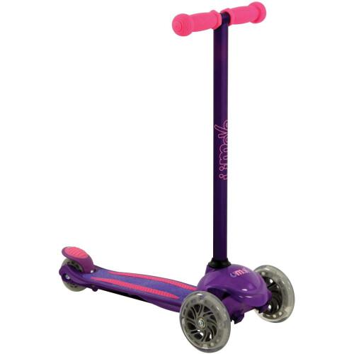 U-Move Mini LED Tilt Scooter - Purple & Pink