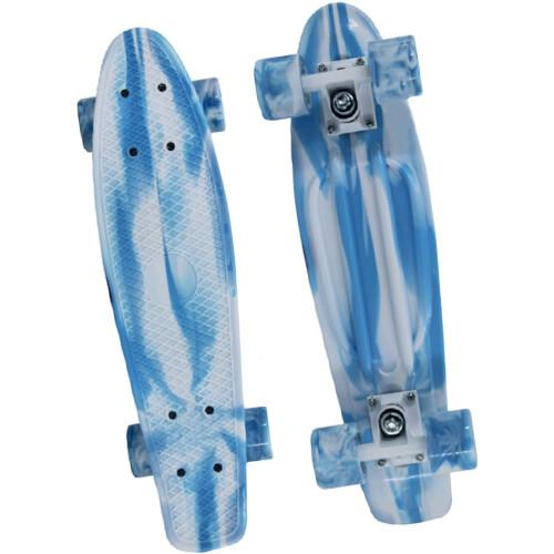 "M.Y X-Skate 22"" Retro Skateboard - Blue"