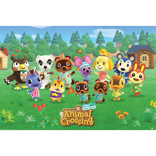 Maxi Posters - Animal Crossing (Lineup)