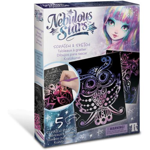 Nebulous Stars - Scratch & Sketch