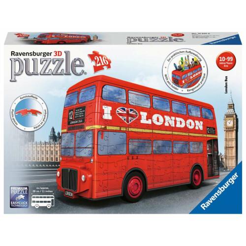 Ravensburger 216pc 3D Jigsaw Puzzle London Bus