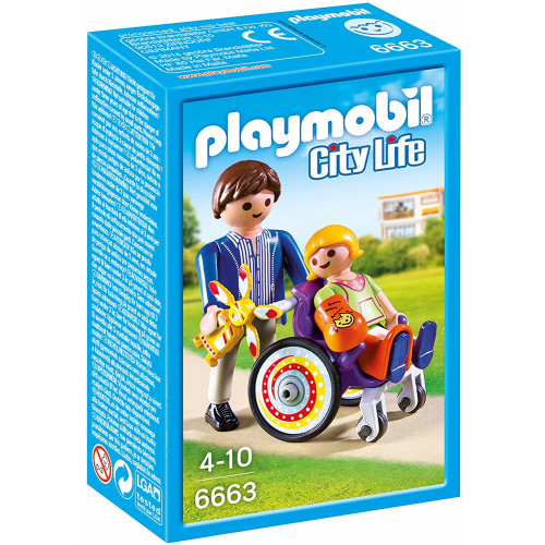 Playmobil 6663 City Life Child in Wheelchair