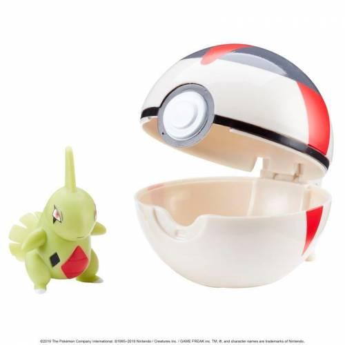 Pokemon Clip 'n' Go - Larvitar & Timer Ball