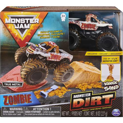 Monster Jam Dirt Starter Set Zombie