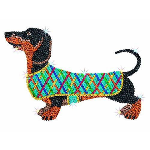 Sequin Art Limited. Sequin Art Red Darcey The Dachshund 1706