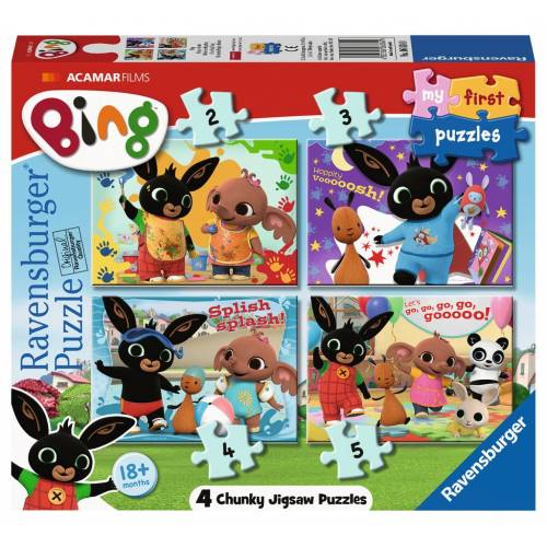 Ravensburger My First Puzzles Bing 4 Chunky Puzzles
