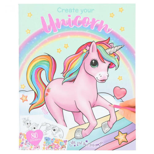 Depesche Ylvi & the Minimoomis Create your Unicorn Colouring Book
