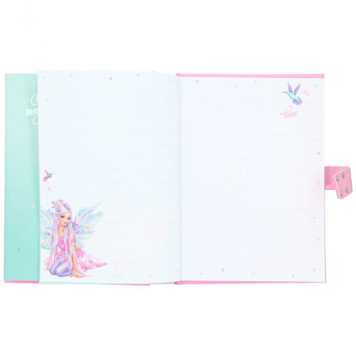 Depesche Fantasy Model Fairy Diary with Code and Sound