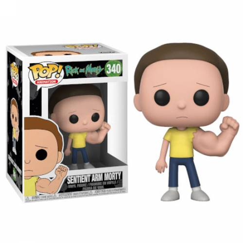 Funko Pop Vinyl Sentient Arm Morty 340