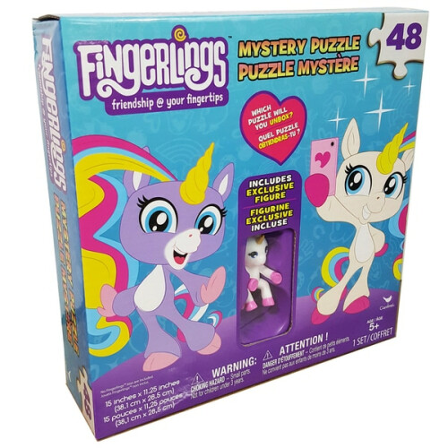 Fingerlings 48pc Mystery Puzzle