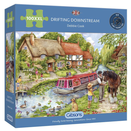 Gibsons Drifting Downstream 100pc XXL Puzzle