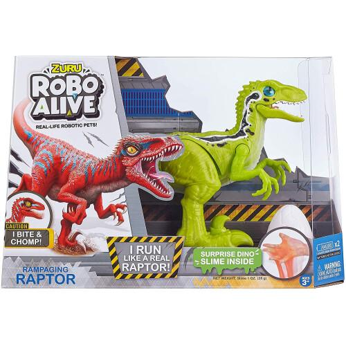Robo Alive Rampaging Raptor - Green