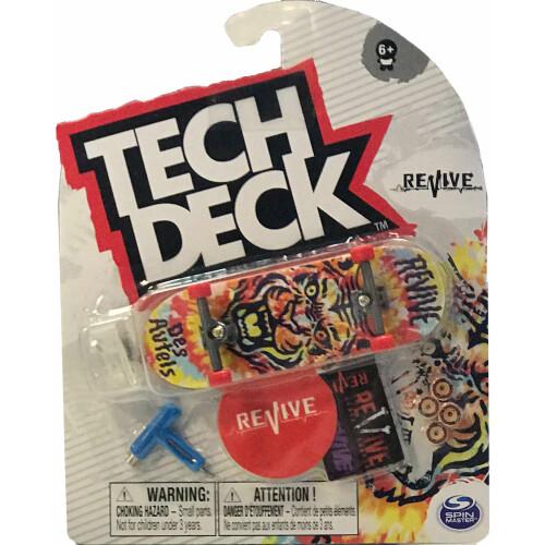 Tech Deck Revive Skateboards Doug Des Autels Tie Dye Tiger 2021