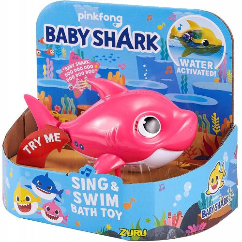 Baby Shark Sing & Swim Bath Toy - Mummy
