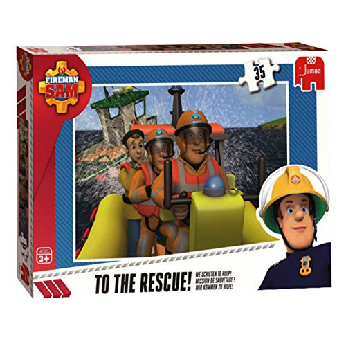 Jumbo 35pc Puzzles Fireman Sam To The Rescue!