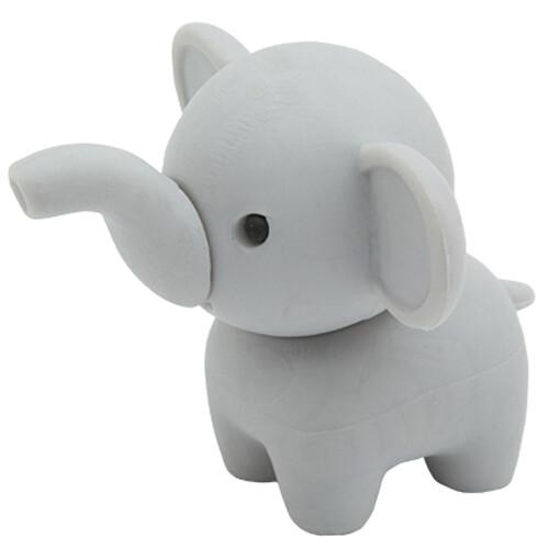 Iwako Puzzle Eraser - Zoo - Elephant