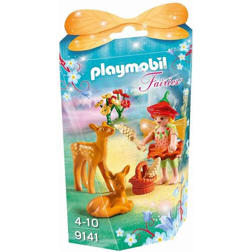 Playmobil 9141 Fairies Girl with Fawns