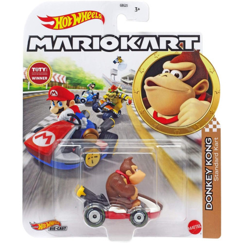 Hot Wheels Mario Kart - Donkey Kong (Standard Kart)