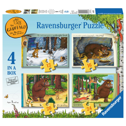 Ravensburger 4 Puzzles in a Box Gruffalo
