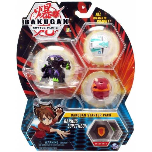 Bakugan Starter Pack - Darkus Lupitheon