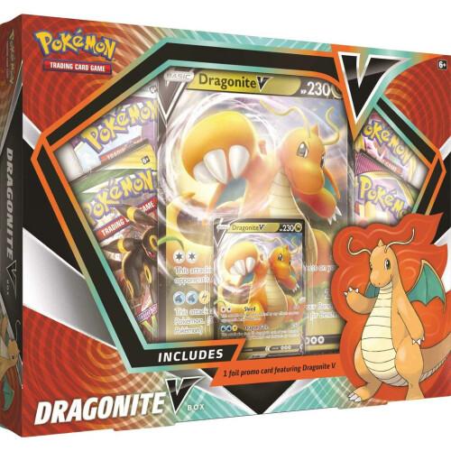 Pokemon TCG Dragonite V Box